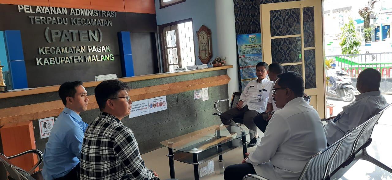 Camat Pagak Menerima Kunjungan Kepala Kcp Bpjs Ketenagakerjaan Malang Kepanjen